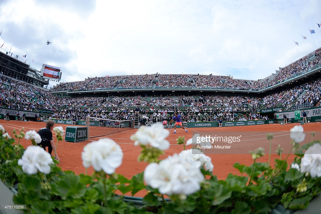 Day Six of the French Open. Generated by  IJG JPEG Library. Photo Credit: Aurelien Meunier