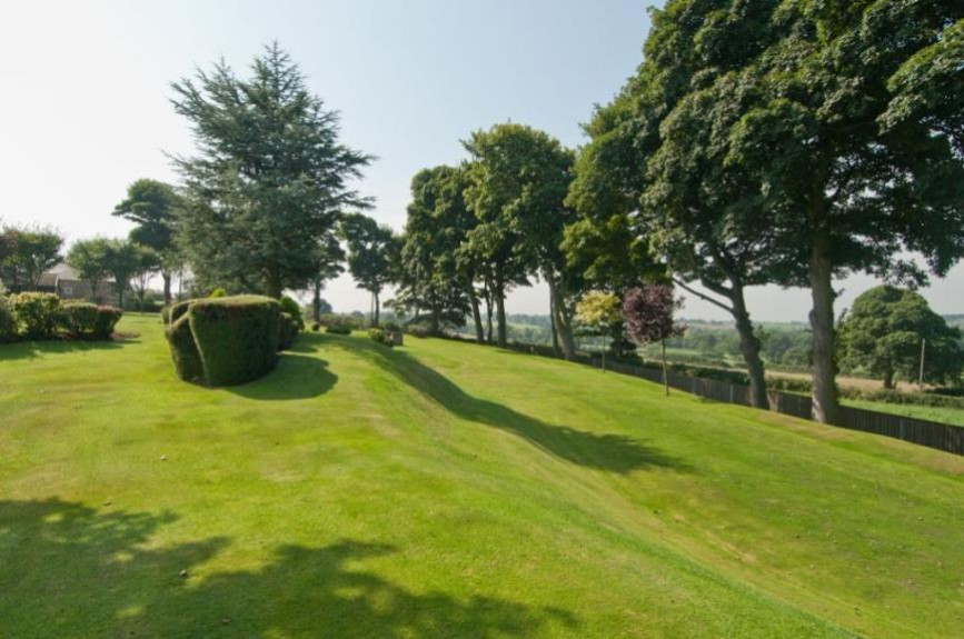 Courtesy of Beadnall Copley EA - The picturesque view of the 9 hole course