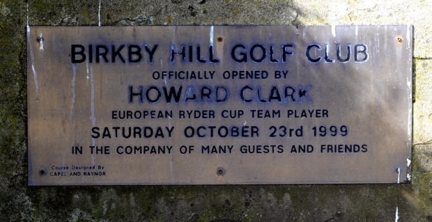 Courtesy of Beadnall Copley EA - The plaque unveiled on opening day